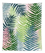 Colorful Palm Leaves 2- Art By Linda Woods Tapestry