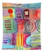 Colorful Patchwork 1- Art By Linda Woods Tapestry