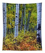 Colors Of October Tapestry by John De Bord