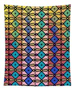 Coloured Glass Window Tapestry