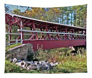 Colvin Covered Bridge Tapestry