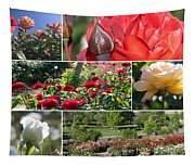 Coming Up Roses Tapestry