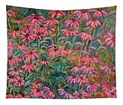 Coneflowers Tapestry