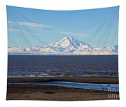 Cook Inlet And The Alaska Range From Ninilchik Tapestry