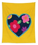 Corazon 5- Art By Linda Woods Tapestry