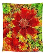 Coreopsis Abstract Tapestry