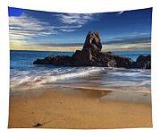 Corona Del Mar Beach Tapestry