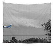 Costa Rica Airport Airplane Tapestry