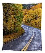 Country Travels Tapestry by John De Bord