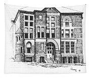 Courthouse Helena Montana Tapestry