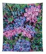 Cozy Hydrangeas Tapestry