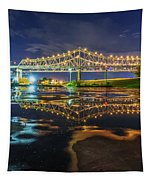 Crescent City Reflection Tapestry