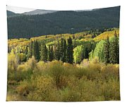 Crested Butte Colorado Fall Colors Panorama - 1 Tapestry