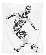 Cristiano Ronaldo Juventus Pixel Art 1 Tapestry