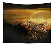 Crows Nest Full Moon Tapestry
