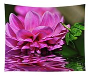 Dahlia On Water Tapestry