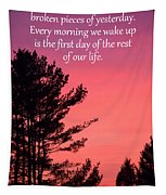 Daily Reminder Tapestry
