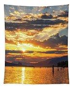 Dalton Point Sunrise Tapestry