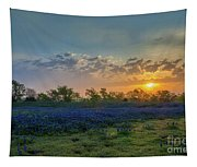 Daybreak In The Land Of Bluebonnets Tapestry