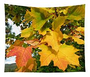Days Of Autumn 24 Tapestry