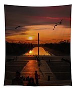 Dc Sunrise Tapestry