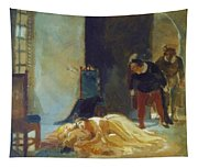 Death Of Imelda Lambertatstsi Tapestry