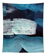 Deep Blue #3 Tapestry by Maria Langgle