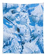 Deep Blue Tapestry