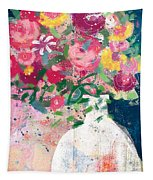 Delightful Bouquet- Art By Linda Woods Tapestry