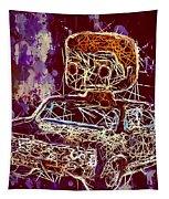 Dean Winchester Car Supernatural Pop  Tapestry