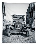 Depression Era Dust Bowl Car Tapestry