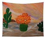 Desert Blooms Tapestry