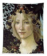 Detail From The Primavera, Circa 1478, Tempera On Panel Tapestry