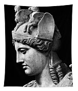Detail Of The Face Of Athena Farnese Tapestry