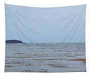 Distant Seguin Island Tapestry