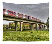 Docklands Light Railway Train  Tapestry