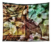 Dogwood Abstract Tapestry