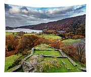 Dolbadarn Castle View Tapestry