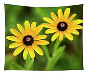 Double Daisies Tapestry