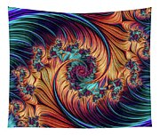 Double Fractal Spiral Tapestry