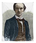 Drawing Of Charles Baudelaire Tapestry