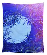 Dream By The Tropical Moon Tapestry