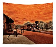 Dreaming Of Lincoln's Train Tapestry