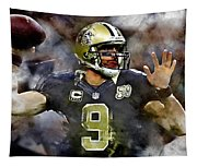 Drew Brees Tapestry