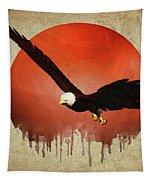 Eagle Flying Tapestry by Jan Keteleer