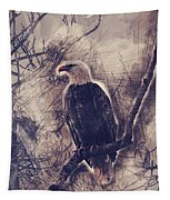 Eagles At Higgens Point Tapestry by Matthew Nelson