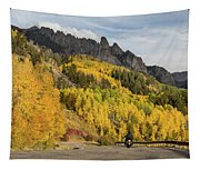 Easy Autumn Rider Tapestry