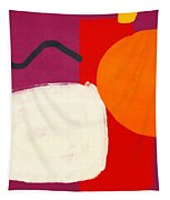 Elation 3- Abstract Art By Linda Woods Tapestry