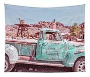 Eldorado Ghost Town Searchlight Nevada Pano Tapestry