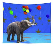 Elephant Celebration Tapestry